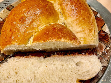 Traditional Braided Challah - The Bread we eat on Shabbat! (חַלָּה)