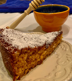 Moist Honey Cake - A long tradition for the sweet new year ahead!