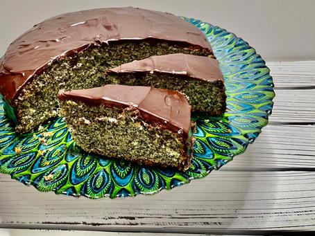 Poppyseed Cake - The Perfect Cake for Shabbat! (עוגת פרג)