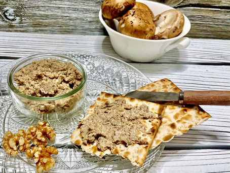 Vegetarian Mock Chopped Liver - another Passover favorite