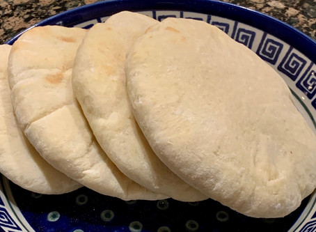 Pita bread - An Israeli and Middle Eastern must!
