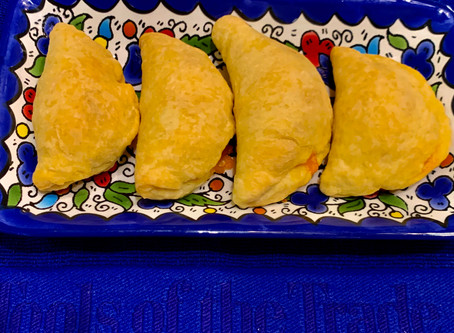 Borekas! Melt in your mouth fluffy cheese filled puff pastry. The perfect hors d'oeuvres!