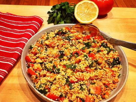 My Tabbouleh Salad (טאבולה)