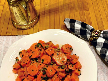 Israeli/Moroccan Spicy Carrot Salad