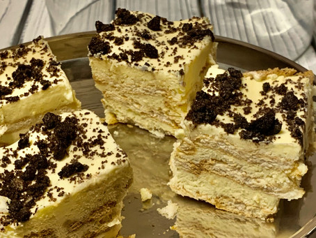 Israeli Biscuit Layer Cake - A well kept secret…(אמאל'ה)
