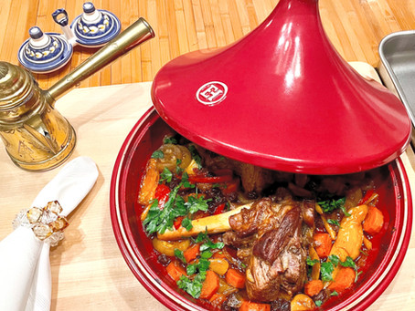 My Tagine Slow Cooked Lamb - A Moroccan Delight!