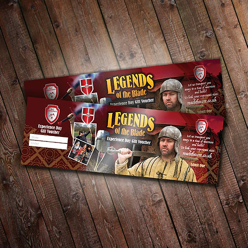 Legends Of The Blade Combat Day Experience Gift Voucher