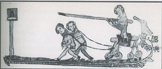 Kids medieval joust
