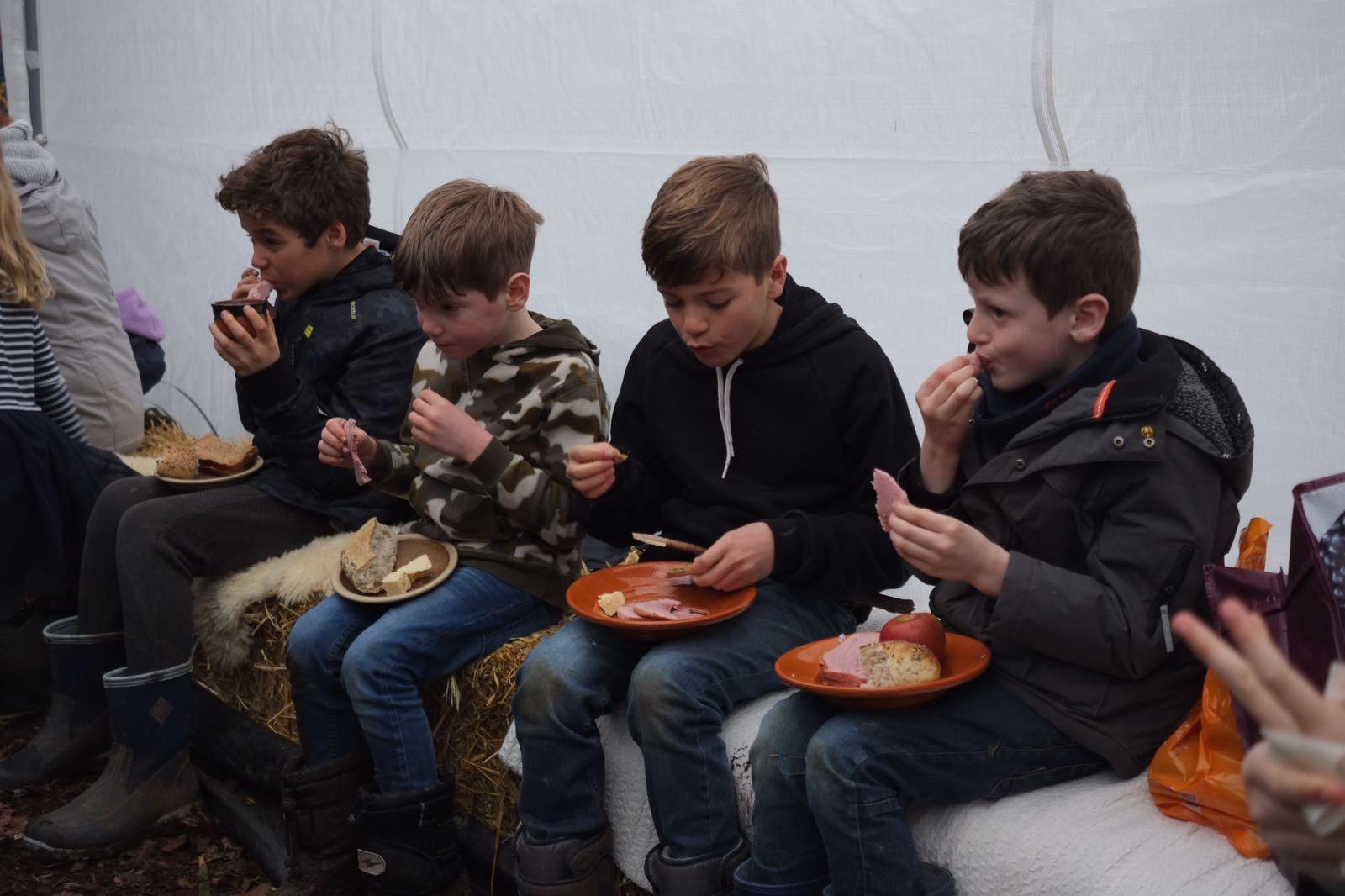 Feasting!