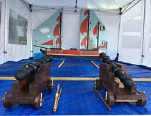 Have ago Pirate cannons
