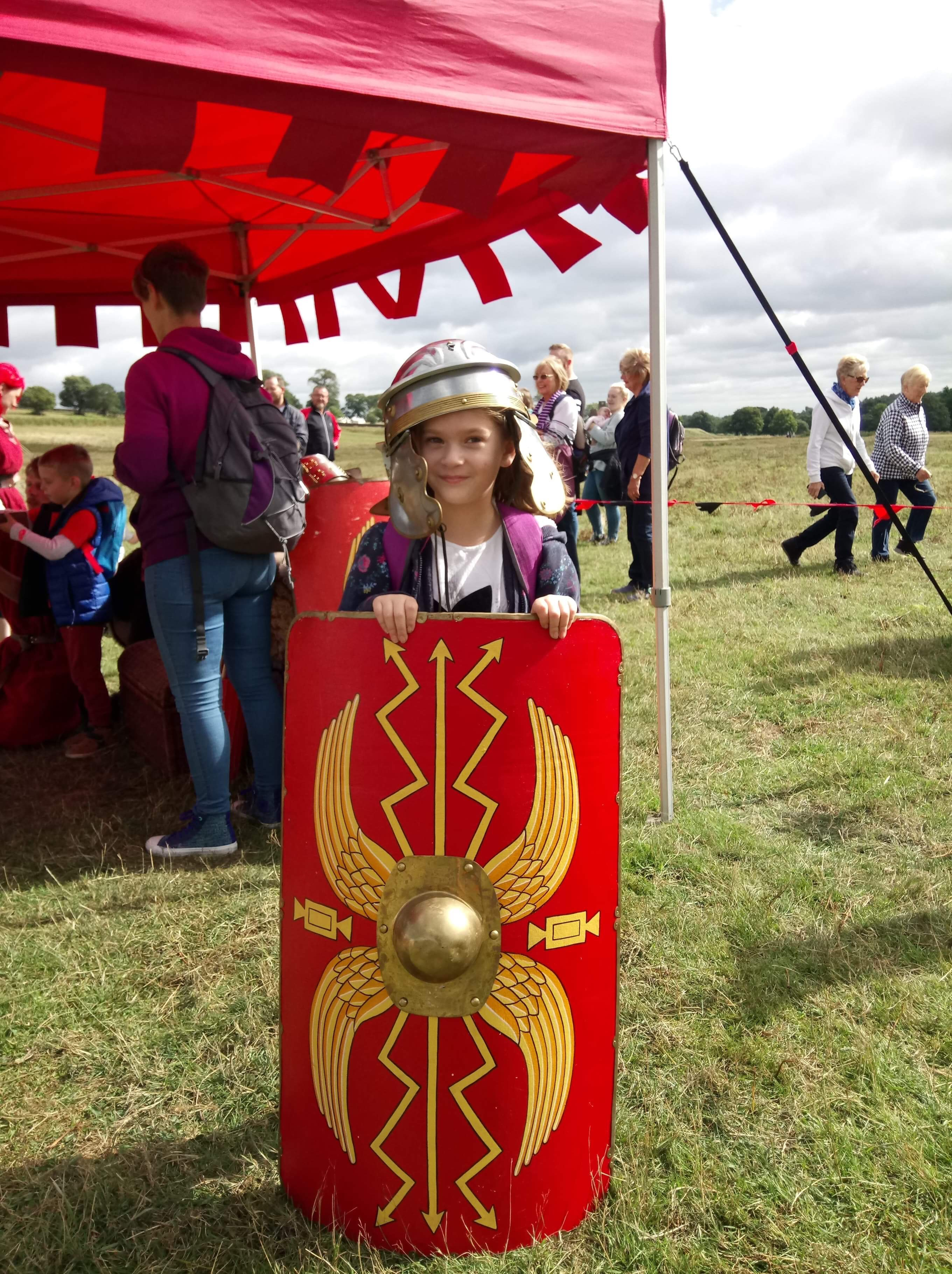 Become a Roman Soldier!