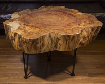 Wood Slice Coffee Table.Wood Slice Coffee Table Priced From