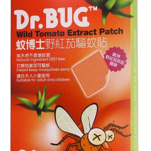 Dr.  Bug 蚊博士野紅茄驅蚊貼