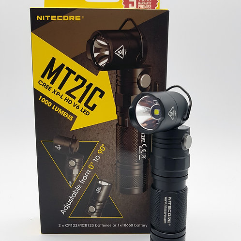 Nitecore MT21C Multifunctional 90∘ Adjustable Flashlight