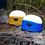 Thumbnail: Nitecore LA30 BI-Fuel Camping Lantern - Blue/Yellow