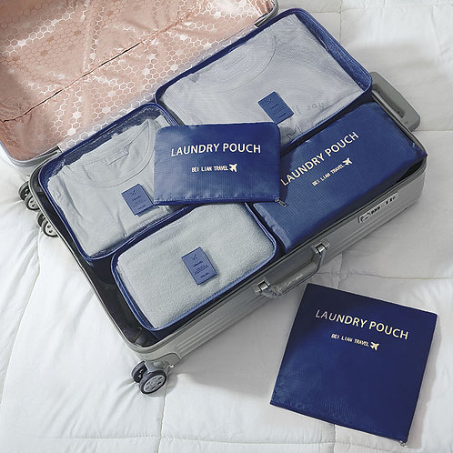 旅行收納袋(六件裝)