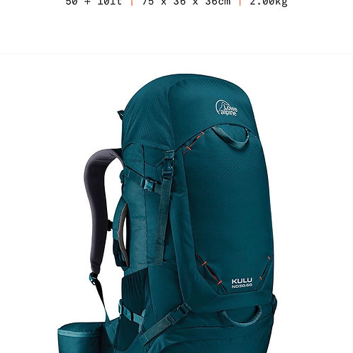 Lowe Alpine Kulu ND 50:60 (Mallard Blue)