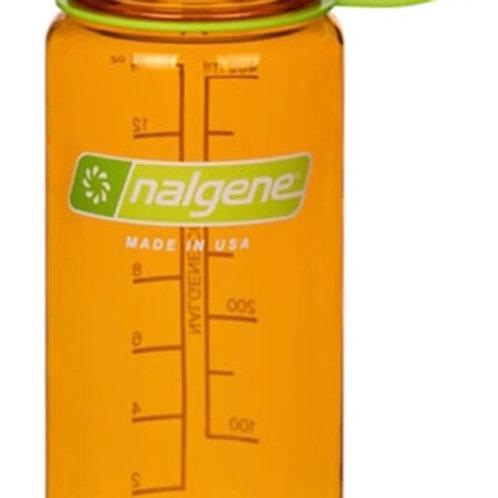 Nalgene Triton Wide Mouth Bottle (16 fl oz, Clementine)
