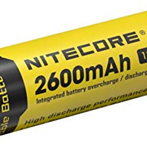 Nitecore NL1826  2600 mAh Li-ion Rechargeable Battery