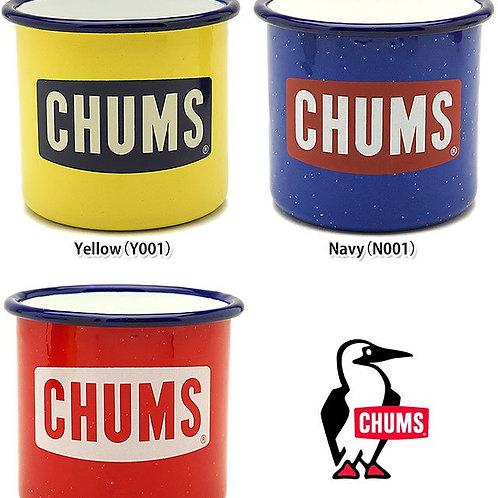 Chums Boat Logo Enamel Mug Cup