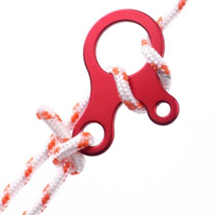 蝸牛式營繩扣(6隻裝)