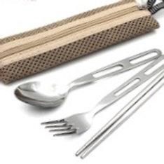 不銹鋼餐具(刀,叉,筷子)