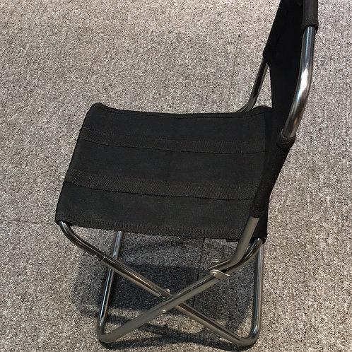連背摺凳-黑色