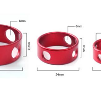 指環式營繩扣(8隻裝)