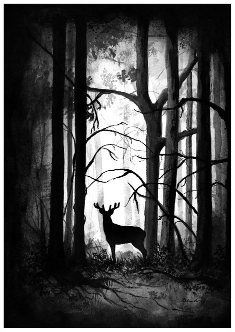 Stag - PRINT