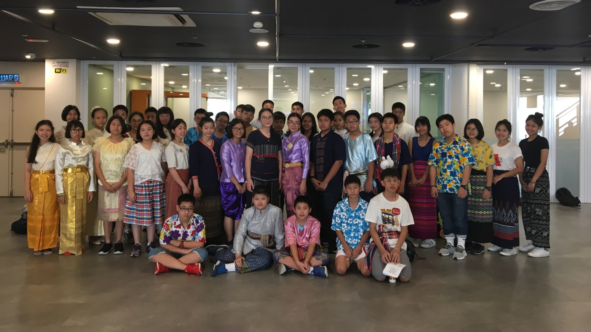 Young stem & A student exchange program