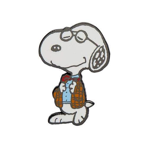 Professor Snoopy Enamel Pin