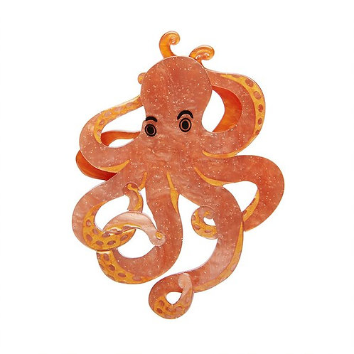 Octopode's Abode Brooch