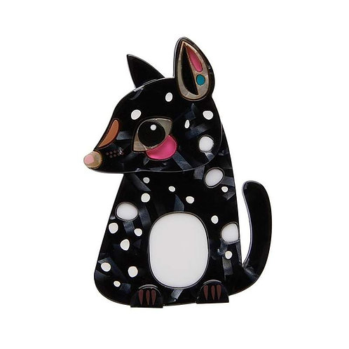 The Quaint Eastern Quoll Brooch