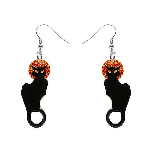 Le Chat Noir Earrings