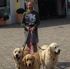 Stefano e i cani