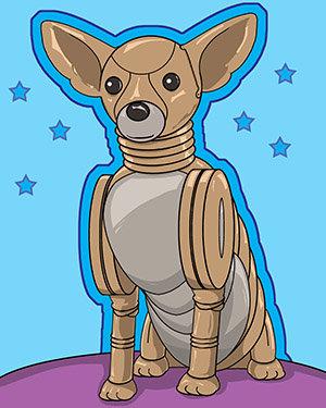 Mini Poster of Robo-Chihuahua