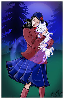 Norma with ghost dog copy.jpg
