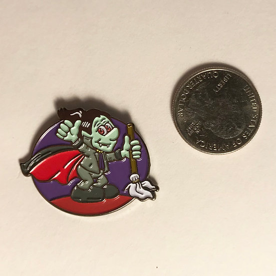 Norma's Cleaning Service Enamel Pin