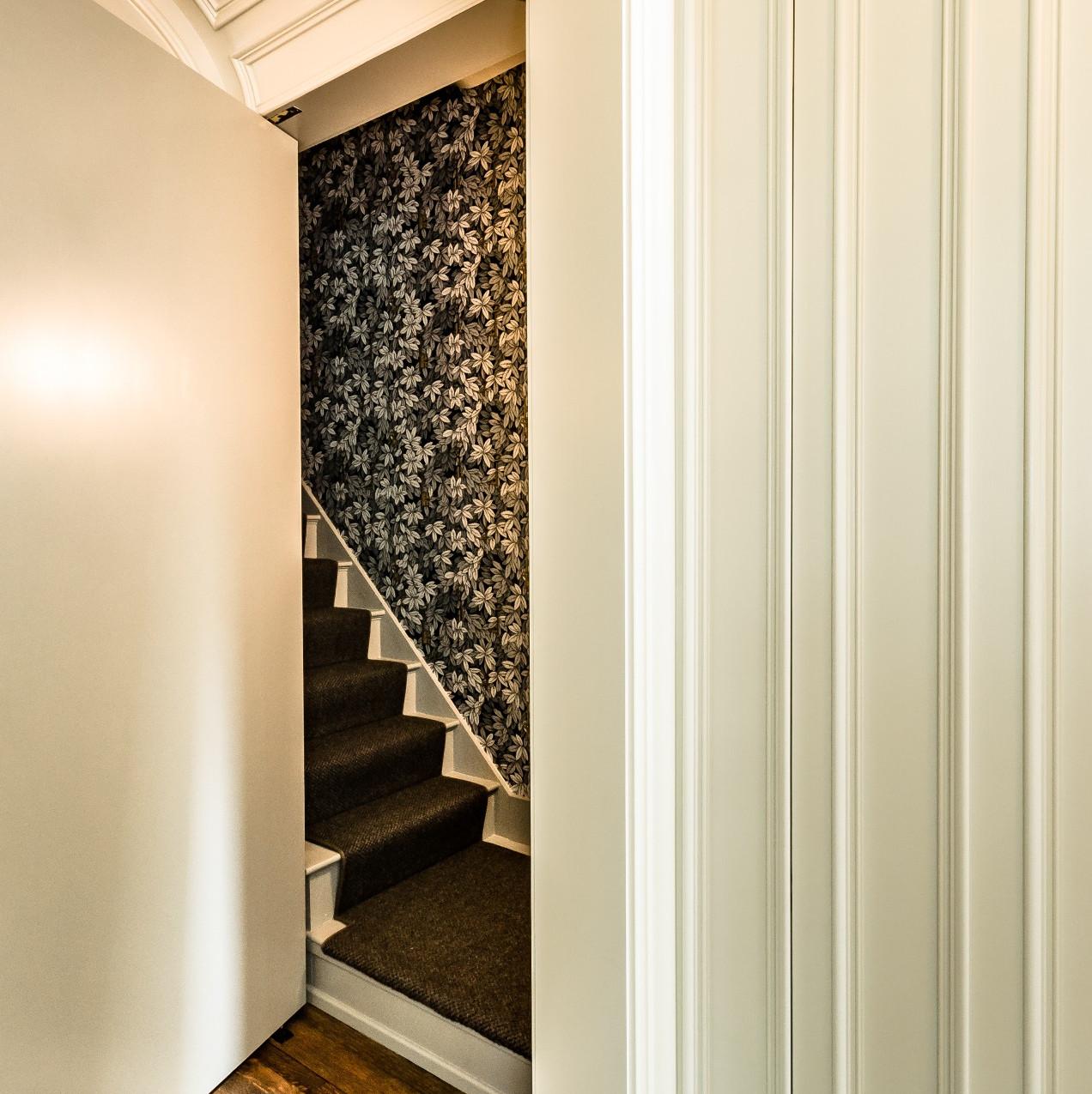 secret stairway entrance