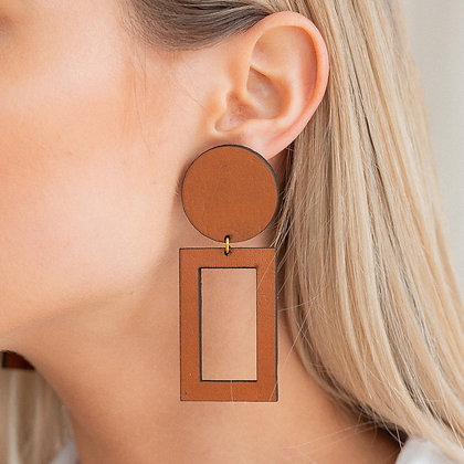 Rectangle Cut Out Studs