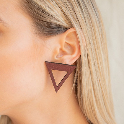 Triangle Cut Out Studs