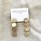 Thumbnail: Circle Stack Studs, Gold