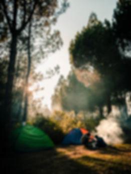 Riverside Camping in Rishikesh | The Hills Adventure