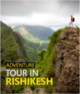 """Best Adventure tours in Rishikesh"""