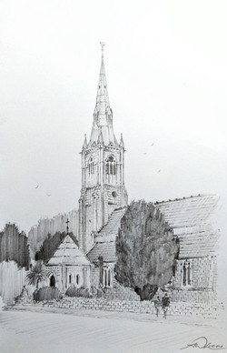 All Saints Church, Torquay, England.