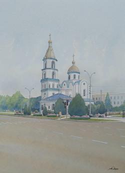 Holy Protection Church, Krasnodar, Russia.