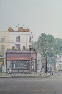 """ Bakers Corner "", Notting Hill Gate, Lo"