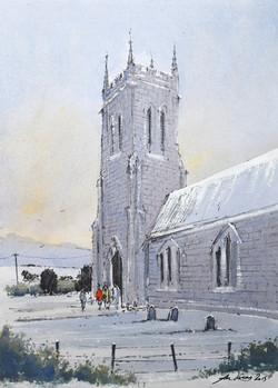 """ The village church """