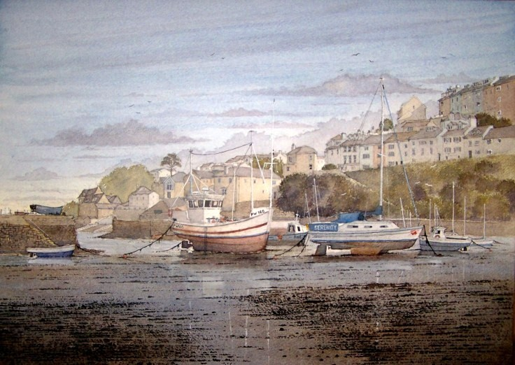 """ Brixham harbour """