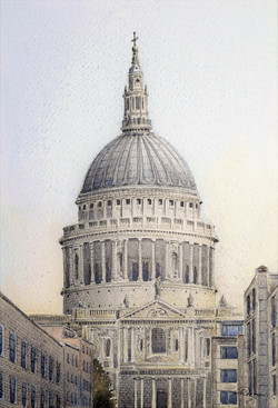 """ St Paul's Cathedral """